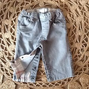 Burberry easy wear jeans for baby boy